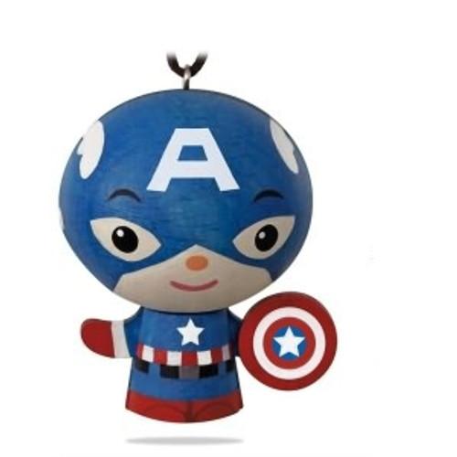 2018 Wooden - Retro - Captain America