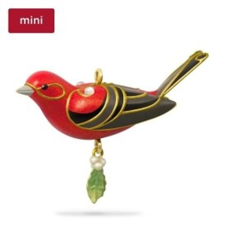 2018 Beauty of Birds - Miniature Red Tanager