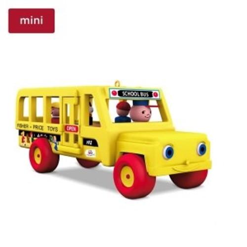 2018 Fisher Price - Miniature School Bus