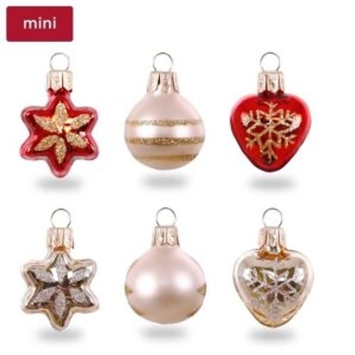 2018 Miniature Decorative Ornaments (set of 6)