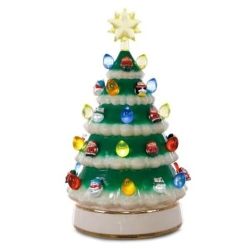 2018 Porcelain Tabletop Tree