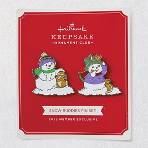 2018 Snow Buddies Pin Set (QXC5328)
