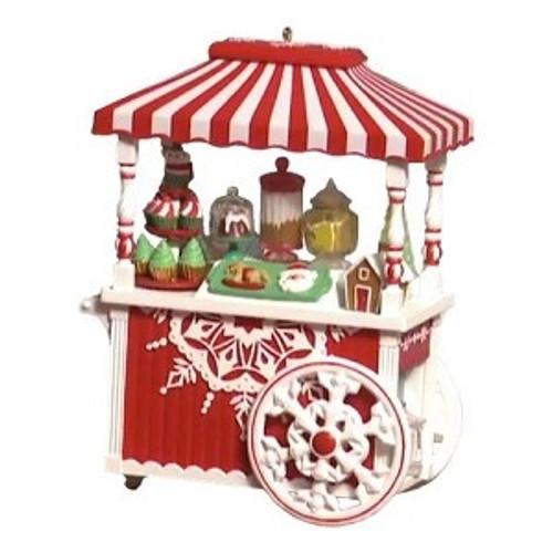 2018 Santa's Sweet Treat Cart