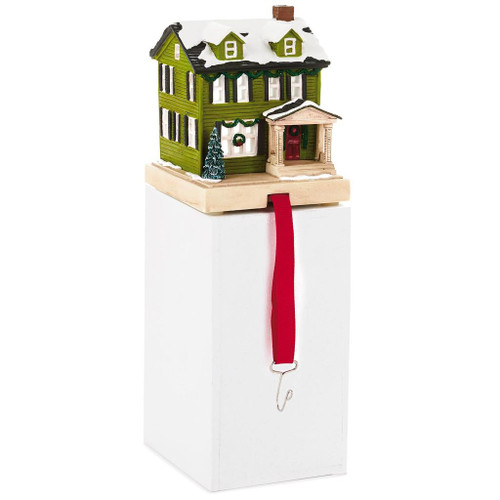 2018 Christmas in Evergreen  - Green House Stocking Hanger