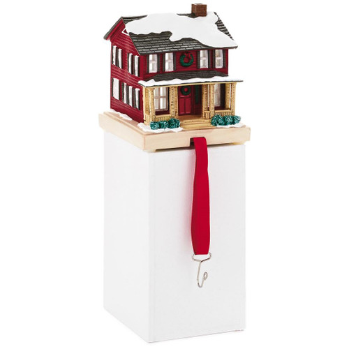 2018 Christmas in Evergreen  - Red House Stocking Hanger
