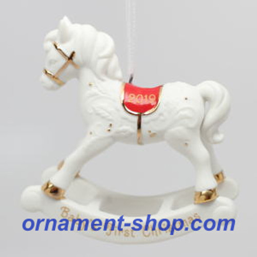 2019 Baby's First Christmas - Rocking Horse (QHX4019)