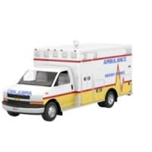2019 2012 Chevrolet G4500 Ambulance Hallmark ornament (QXI3417)