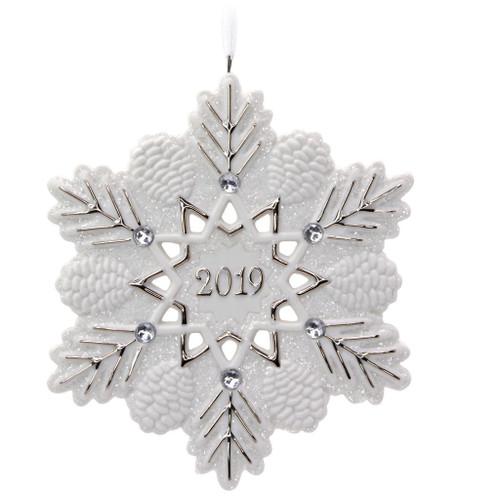 2019 2019 Snowflake Hallmark ornament (QGO2409)