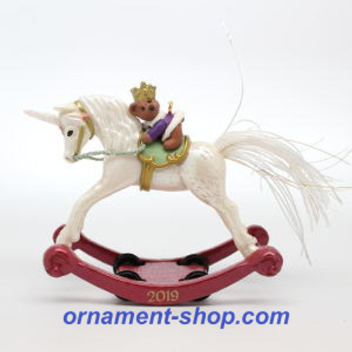 2019 A Pony for Christmas #24 - Unicorn Hallmark ornament (QXR9057)