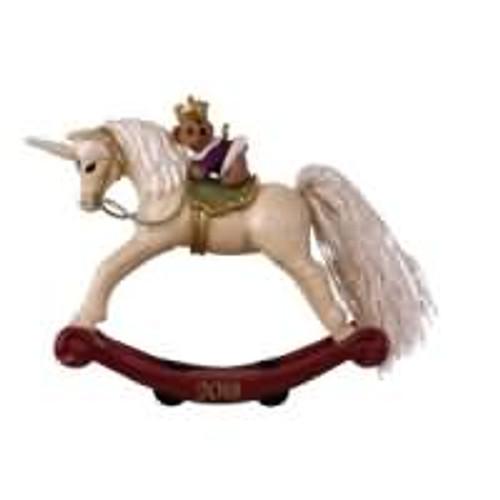 2019 A Pony for Christmas #24 - Unicorn Hallmark ornament (QXR9057)