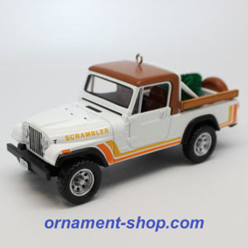 2019 All American Truck #25 - 1982 Jeep CJ-8 Scrambler Hallmark ornament (QXR9099)