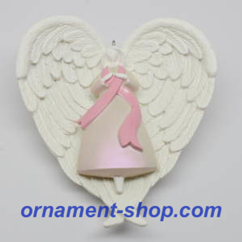 2019 Angel of the Heart - Komen Hallmark ornament (QXI3839)