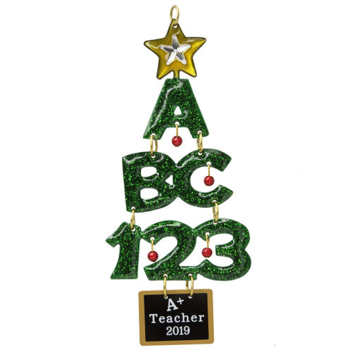 2019 A+ Teacher Hallmark ornament (QGO2257)