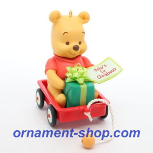 2019 Baby's 1st Christmas - Winnie the Pooh Hallmark ornament (QXD6237)
