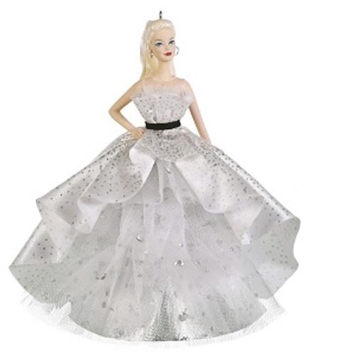 2019 Barbie - 60th Anniversary - Premium Hallmark ornament (QK1007)