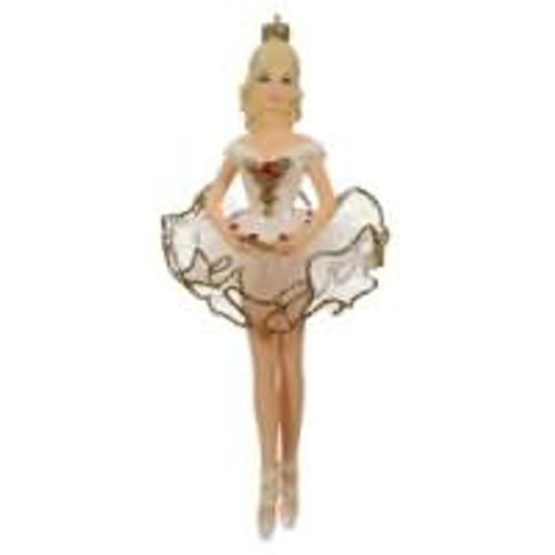 2019 Barbie - Beautiful Ballerina Barbie Hallmark ornament (QXI3079)