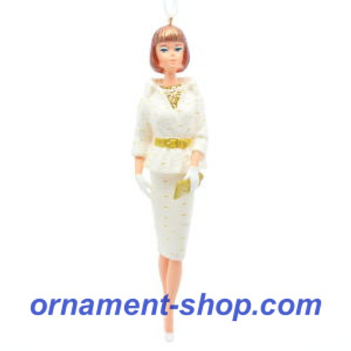 2019 Barbie - On the Avenue Barbie Hallmark ornament (QXI3087)
