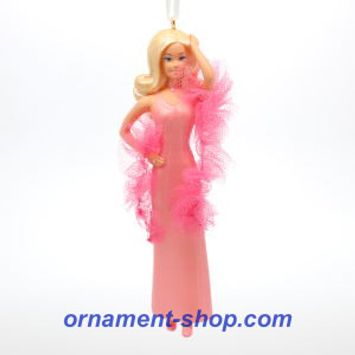 2019 Barbie - SuperStar Barbie - Ltd Hallmark ornament (QXE3147)