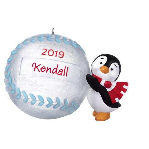 2019 Baseball Star Hallmark ornament (QGO2227)