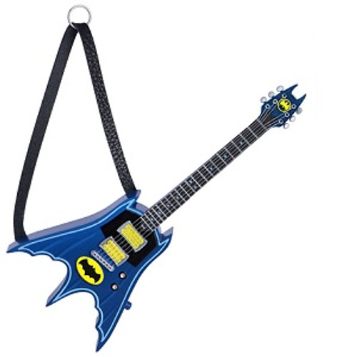 2019 Batman Rocks - Guitar Hallmark ornament (QXI3797)