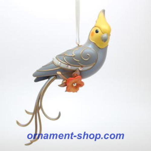 2019 Beauty of Birds - Clever Cockatiel - Club Hallmark ornament (QXC5374)