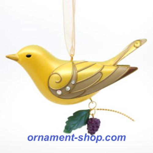 2019 Beauty of Birds - Lady Summer Tanager - Ltd Hallmark ornament (QXE3167)