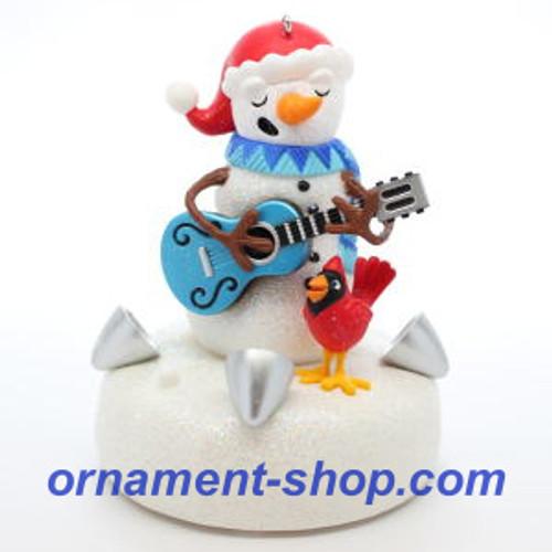 2019 Blue Christmas Hallmark ornament (QGO2189)