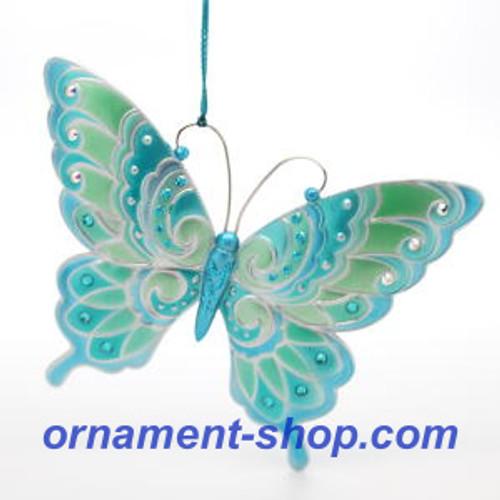 2019 Brilliant Butterflies #3 Hallmark ornament (QXR9419)