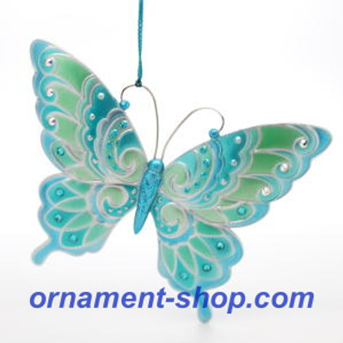 2019 Brilliant Butterflies #3 Hallmark ornament (QXR9419)