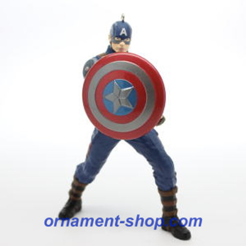 2019 Captain America - Ltd - Avengers Endgame Hallmark ornament (QXE3227)