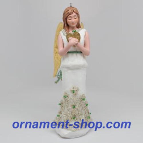 2019 Christmas Angels #2 - Love Hallmark ornament (QXR9139)