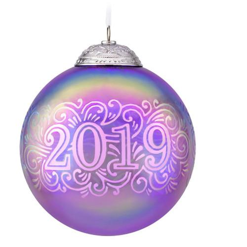 2019 Christmas Commemorative #7 Hallmark ornament (QXR9137)