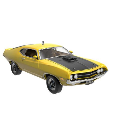 2019 Classic American Cars #29 - 1970 Ford Torino Cobra Hallmark ornament (QXR9097)