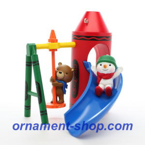 2019 Crayola - Slide into Fun Hallmark ornament (QXI3737)
