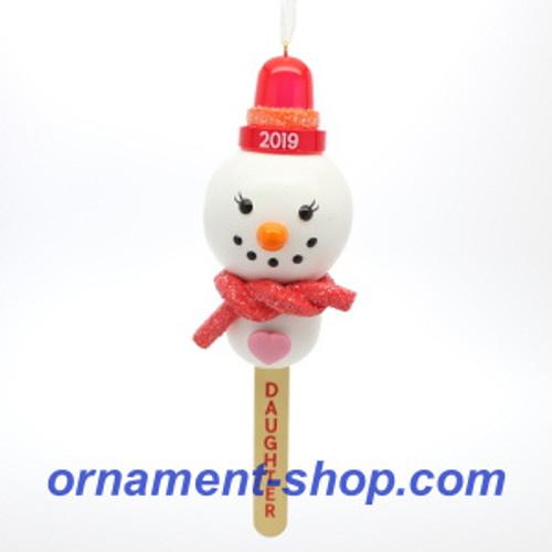 2019 Daughter Hallmark ornament (QGO2037)