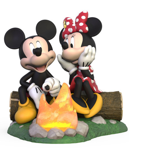 2019 Disney - Fireside Friends - Mickey and Minnie Hallmark ornament (QXD6197)