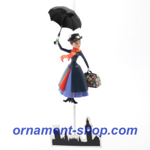 2019 Disney - Mary Poppins - The Perfect Nanny Hallmark ornament (QXD6307)