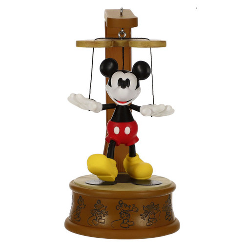 2019 Disney - Mickey Marionette - Club Hallmark ornament (QXC5389)