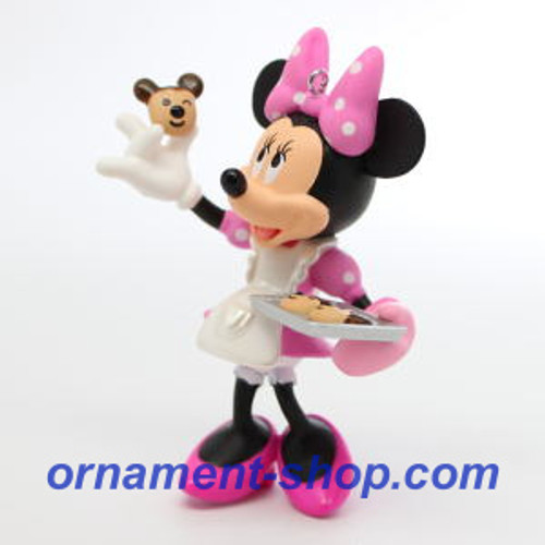 2019 Disney - One Smart Cookie - Minnie Mouse Hallmark ornament (QXD6199)