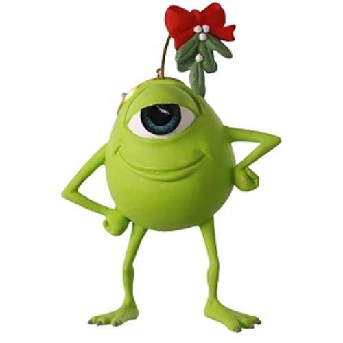 2019 Disney - Pixar - Monsters Inc - Mistletoe Mike Hallmark ornament (QXD6357)