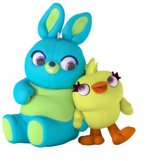 2019 Disney - Pixar Toy Story 4 - Ducky and Bunny Hallmark ornament (QXD6497)