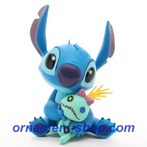 2019 Disney - Stitch and Scrump - Lilo and Stitch Hallmark ornament (QXD6507)
