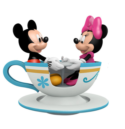 2019 Disney - Teacup for Two - Mickey Hallmark ornament (QXD6527)