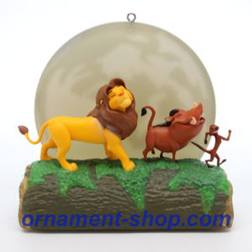 2019 Disney - The Lion King - 25th Anniversary Hallmark ornament (QXD6287)