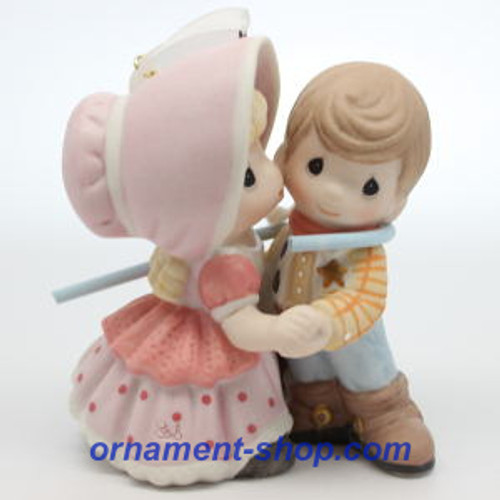 2019 Disney - Toy Story - Woody and Bo Peep - Ltd - Precious Moments Hallmark ornament (QXE3137)