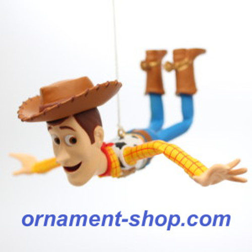 2019 Disney - Toy Story - Woody is on a Mission Hallmark ornament (QXD6519)