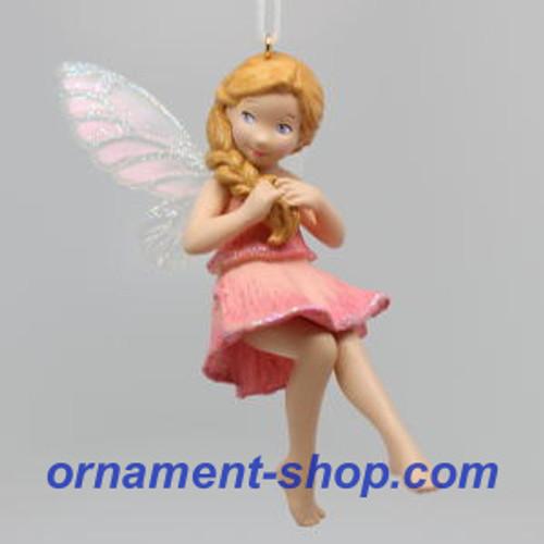 2019 Fairy Messengers #15 - Sweet Pea Fairy Hallmark ornament (QXR9017)