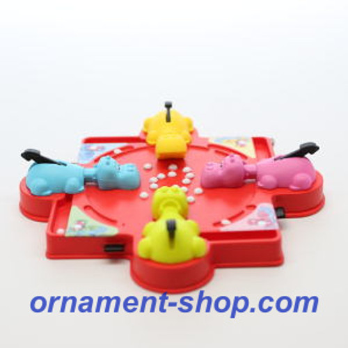 2019 Family Game Night #6 - Hungry Hungry Hippos Hallmark ornament (QXR9079)