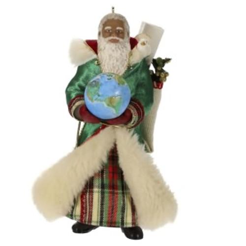 2019 Father Christmas - African American Hallmark ornament (QSM7799)