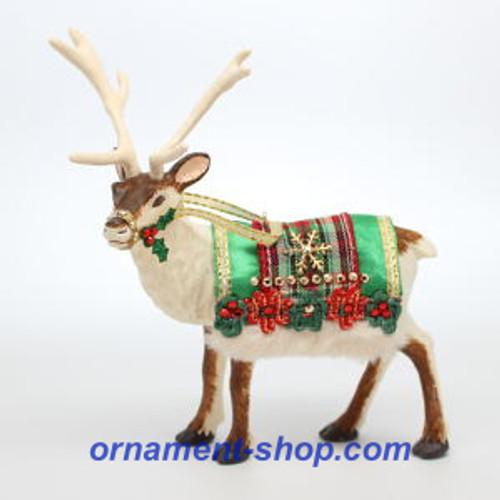 2019 Father Christmas Reindeer - Ltd Hallmark ornament (QXE3209)
